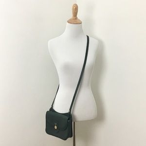 Vintage 90's Leather Crossbody Bag